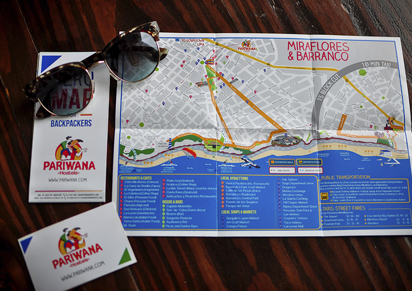 Hostels Ireland Map.Pariwana Pariwana Hostel For Travelers In Peru Lima And Cusco
